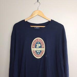 Vintage Brand New Polo Sport Long Sleeve Shirt